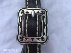 Black Sparkle Zebra Bridle With Spots