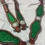 Green Sparkle Tack Set