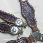 Purple Sparkle Croc Tack Set