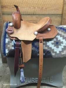 14 Barrel Saddle